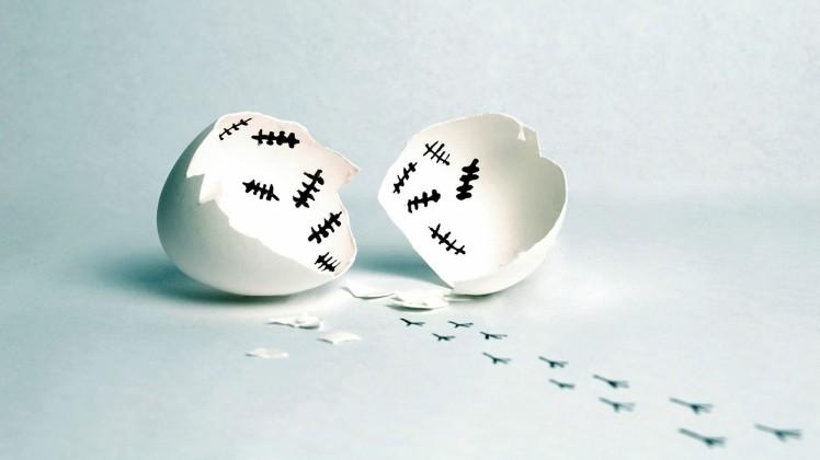 broken-eggshell