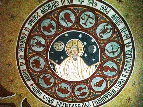 Dumnezeu-Tatal-centru-zodii-horoscop-pictura-biserica